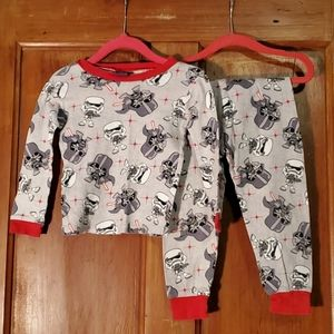 *3/$25* Star Wars Gray and Red Pajamas Set Size 4T